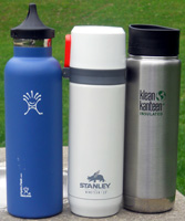 Hydro Flask, Stanley and Klean Kanteen