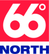 66  Degrees North Logo